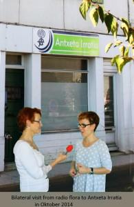 Antxeta-Irratia-Visita bilateral