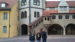 visiting the Moritzburg