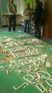 model of Halle Neustadt