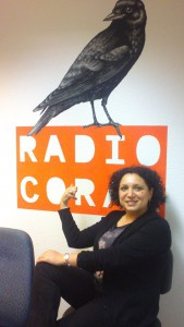 Irena at Radio Corax