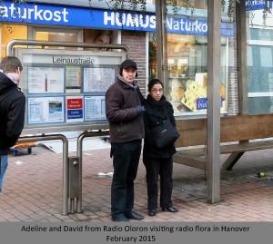 Radio Oloron visiting hannover