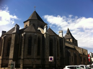 Cathedral in Oloron