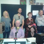 Participants are guests in Athlone Comm radio Studio